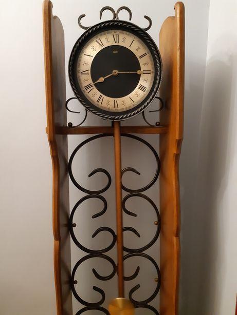Zegar HEIBI podłogowy stojący