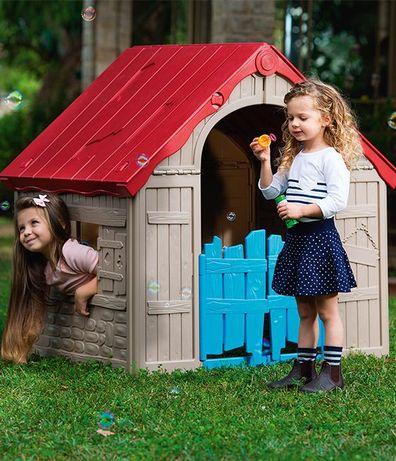 Игровой детский домик будинок Foldable KETER Польша