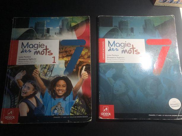 Livros escolares 7 ano
