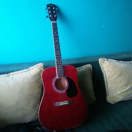 Gitara akustyczna etui