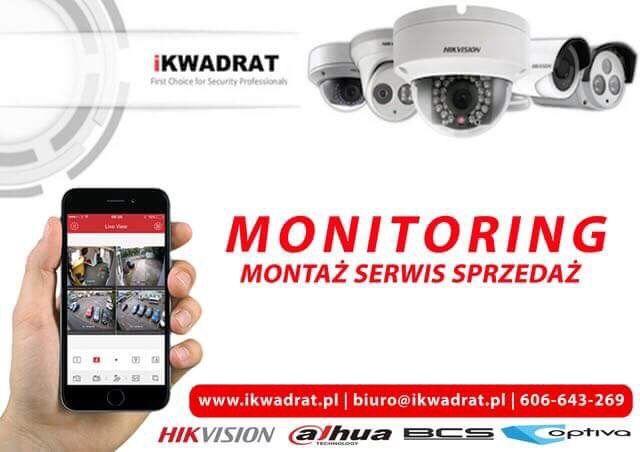 MONITORING CCTV| montaż,serwis | FIBARO | KAMERY IP | Hikvision | BC