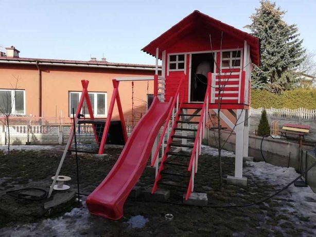 детская игровая площадка детский домик горка