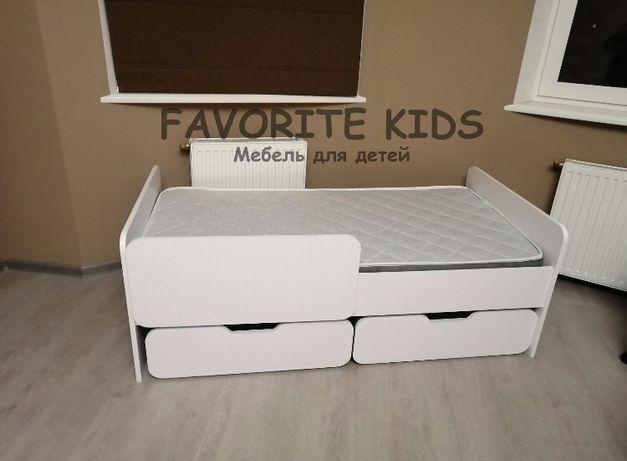 Ліжко дитяче кровать диван с ящиками