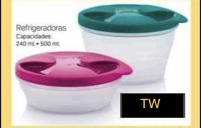 2 Caixas Refrigeradoras Tupperware