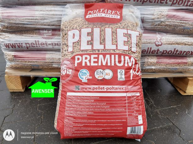 Pellet Poltarex, pelet drzewny, 990kg, Dostawa Gratis Miastko