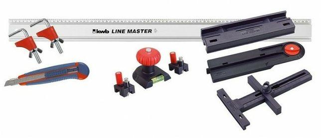 Універсальний комплект LINE MASTER (10 предметів) KWB 783908
