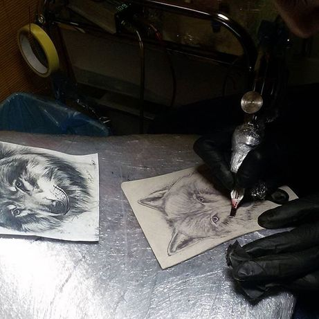 Обучение мини-тату для мастеров перманентного макияжа. Киев.