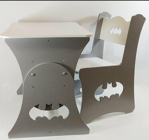 Дитячий столик Бетмен, зростаюча парта