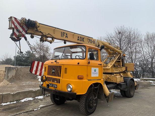 Dźwig samochodowy IFA ADK 70.011