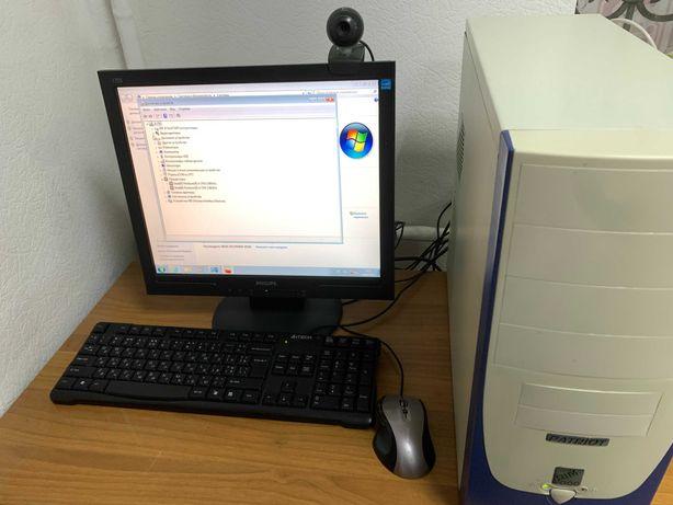 Компьютер 2 Ядра + 2Gb на Intel! Рабочий! Windows и программы!