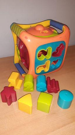 Kostka sorter SMIKI - Smyk - cyfry, kształty, dźwięki, labirynt