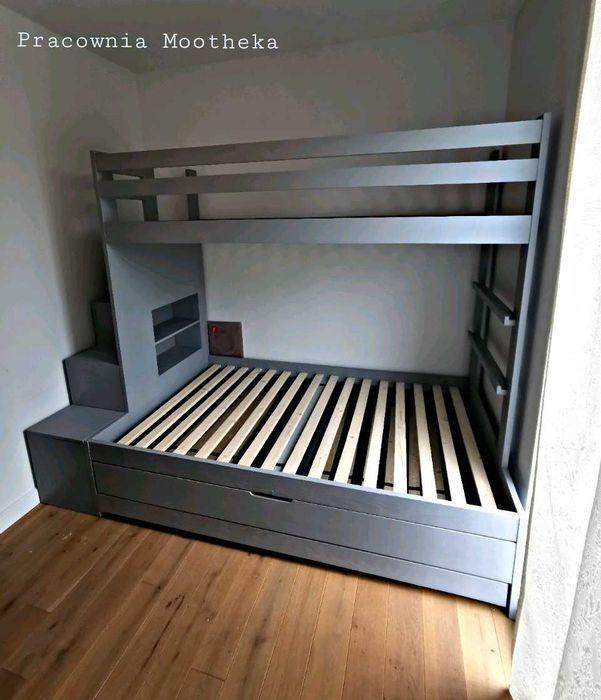 Łóżko piętrowe drewniane Wejherowo - image 1