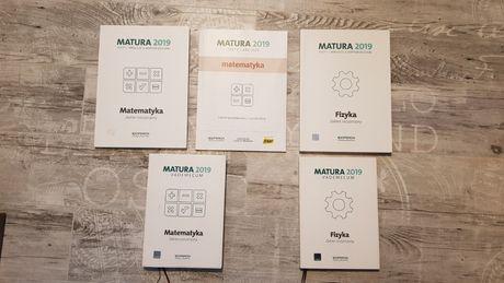 Matura 2019 matematyka i Matura 2019 fizyka - zakres rozszerzony