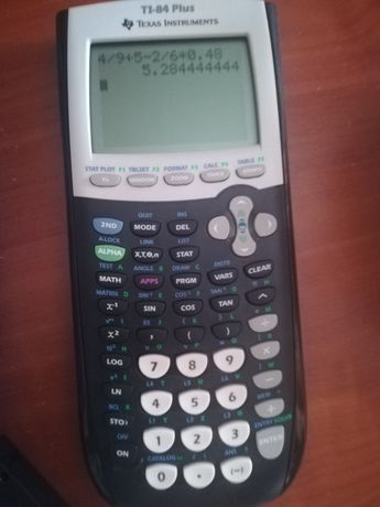 Calculadora gráfica TI- 84 plus