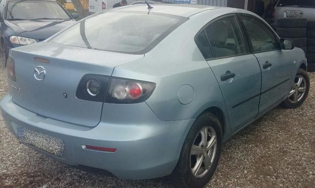Mazda 3 крышка багажника разборка