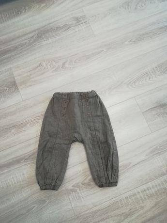 Spodnie H&M roz 86 jak nowe