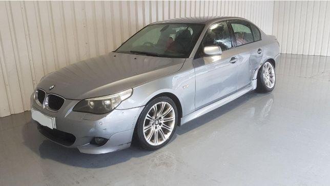 Drzwi przednie lewe BMW E60 m pakiet, silbergrau metallic