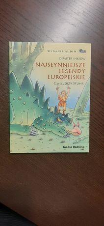 płyta Najsłyniejsze legendy europejskie Dimiter  Inkiow