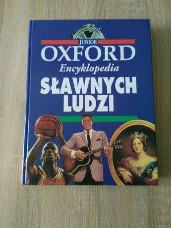 """Książka """"Encyklopedia sławnych ludzi """"-JUNIOR OXFORD."""