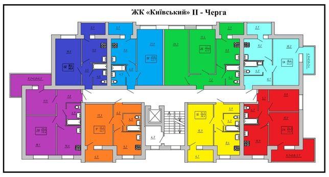 Продам квартиру в новострое (Курский мкрн)