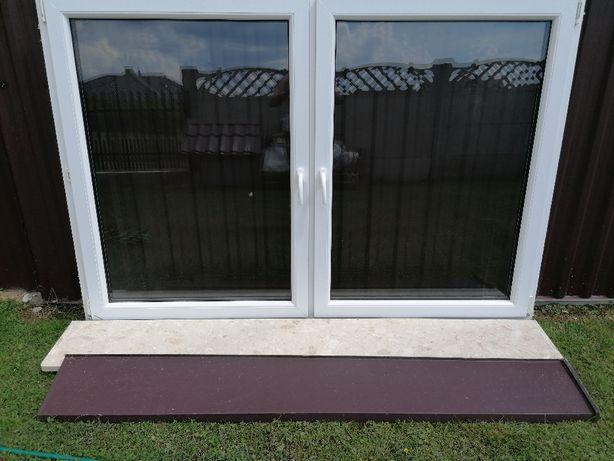 Okno PCV białe 208x140 cm