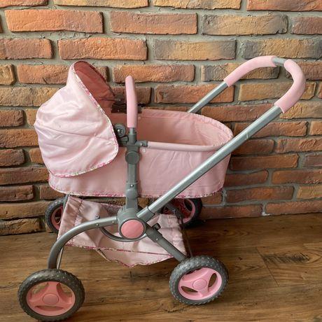Wózek dla lalek z lalką, wanienką i nocnikiem
