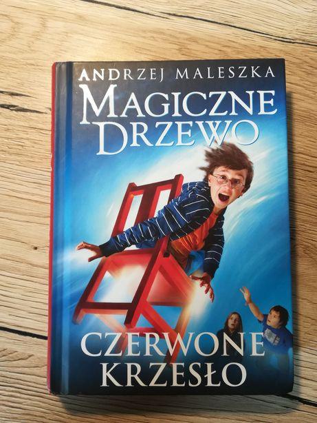 """Książka, lektura szkolna """"Magicznie drzewo-Czerwone krzesło"""""""