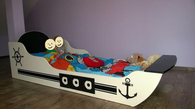Łóżko dziecięce statek piracki