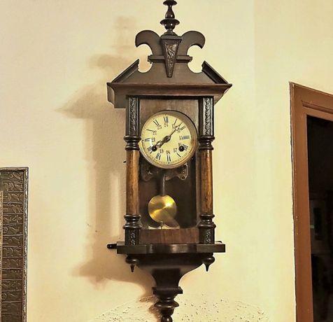 Unikatowy zegar stylowy zegar wiszący prawdziwa miniaturka