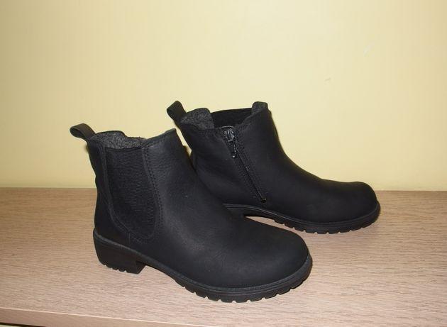 Ecco Elaine kozaki dziewczęce botki zimowe buty dziecięce sztyblety 31