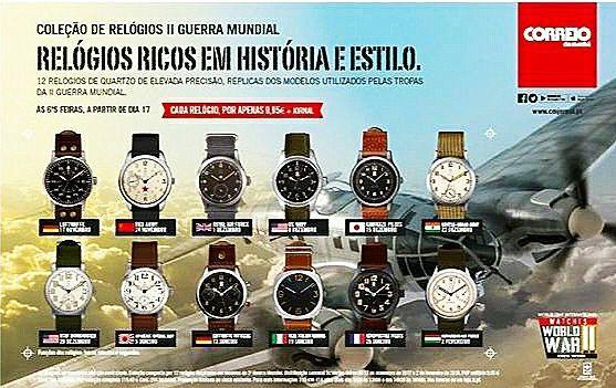 Relógios, Ricos em História e Estilo - II WW