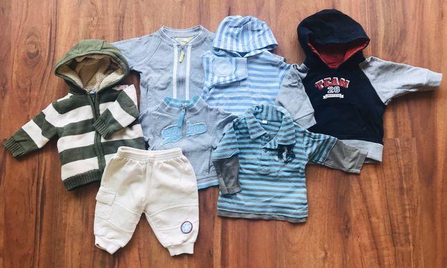 Paka ubrań ponad 30 sztuk dla chłopca na 0-6 mcy