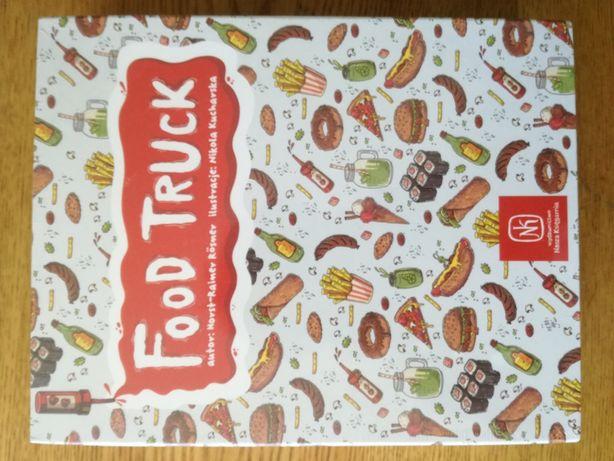 ORYGINALNIE ZAPAKOWANA Gra Food Truck wydawnictwa Nasza Księgarnia