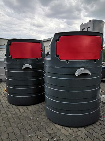 Zbiornik na paliwo BUDKA 1500L NOLEN dwupłaszczowy na ropę