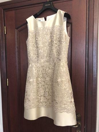 Sukienka na wesele ślub cywilny weill francuska koktailowa chrzciny