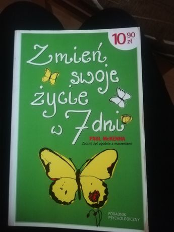 Sprzedam książkę zmień swoje życie w 7 dni