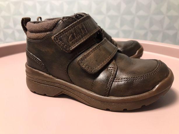 Демисезонные ботинки Clark's на мальчика ( стелька 16 см)