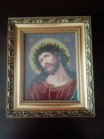 Ікона Ісус в терновому вінку
