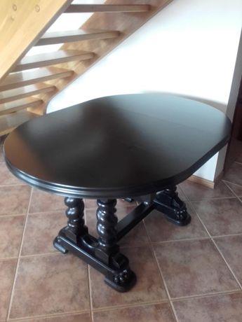 Stół owalny dębowy