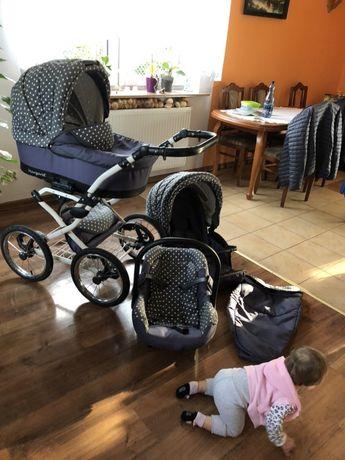 Wózek Margaret 3w1