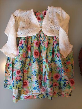 Sukienka + bolerko 2/3  latka