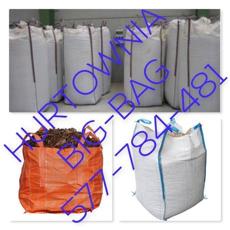 Białe Worki Big Bag 90/90/150cm / Hurtownia!