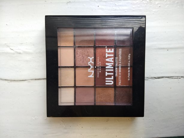 палетка NYX Ultimate Warm neutrals тени никс