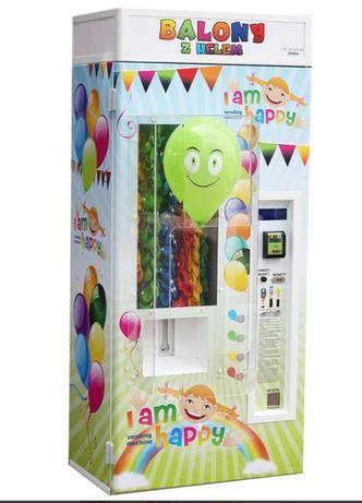 Automat vendingowy do balonów z helem PROMOCJA do końca miesiąca.