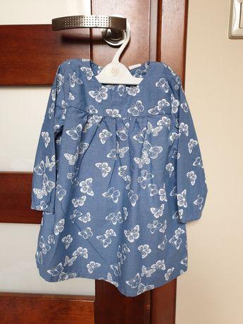 Sukieneczka h&m rozmiar 86