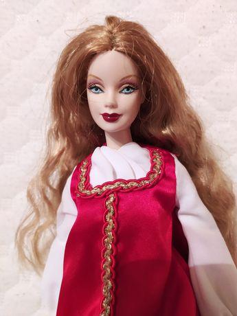 Коллекционная кукла Барби Barbie Mattel Русская красавица