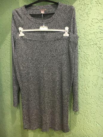 Костюм фирмы н&м свитер 3xl, юбка 2xl , на р. 56-62