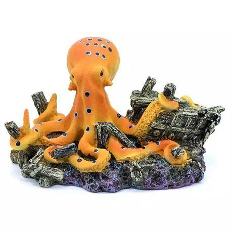 Осьминог для аквариума - статуэтка