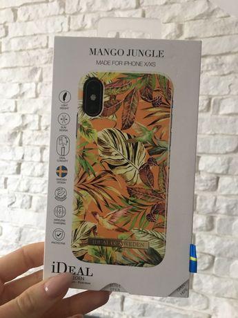 Etui IPHONE X/XS iDeal of Sweden Mango Jungle