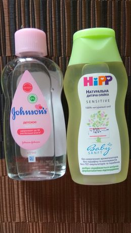 Дитяча олійка Hipp та Gonsons/Детское масло Hipp та Gonsons
